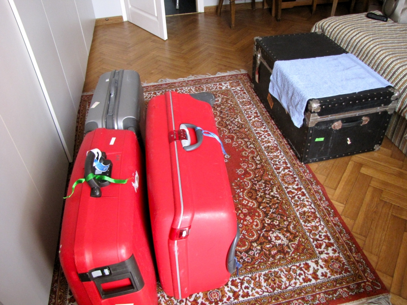 Full Suitcases  in Warsaw